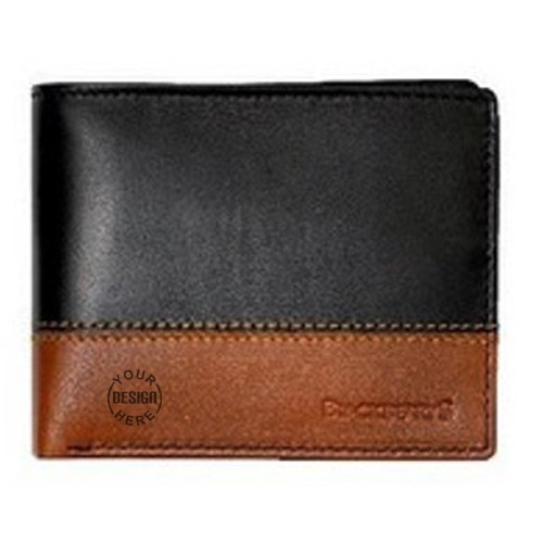 Blackberry Black And Brown Wallet