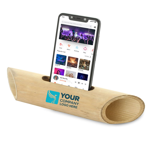 Bamboo Music Amplifier for Smartphones