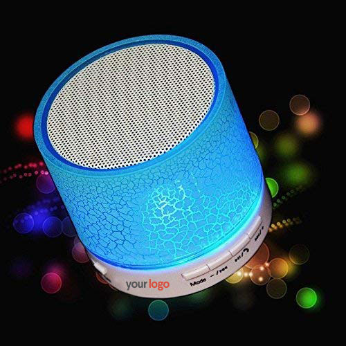 Bluetooth Portable Speaker with Mini Dancing Light