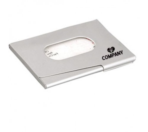 Silver Business Card Wallet