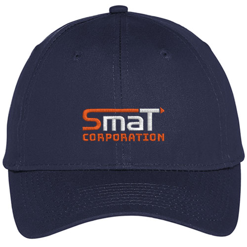 Customized Embroidered Golf Caps Navy