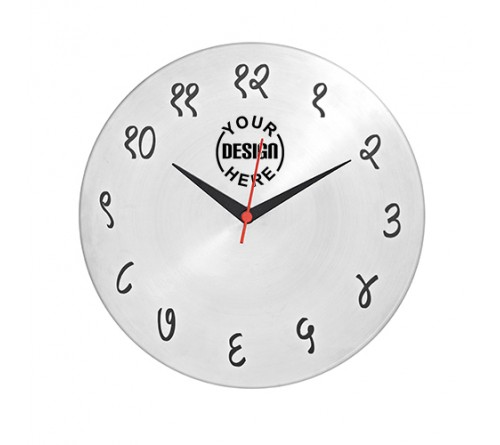 Personalized Hindi Wall Clock