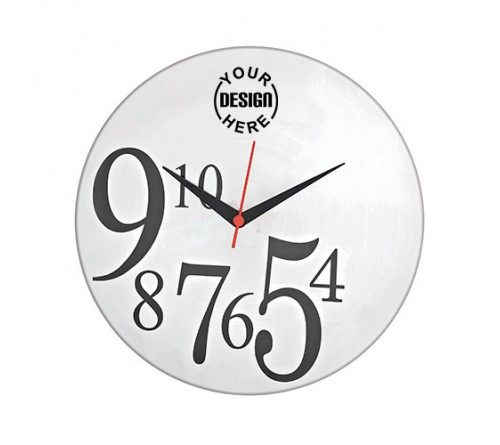 Personalized Round Wall Clock