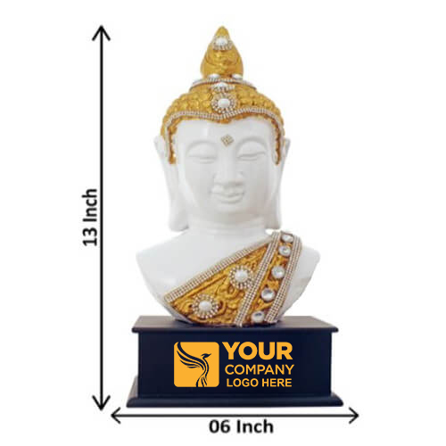Golden Buddha Personalized Idol