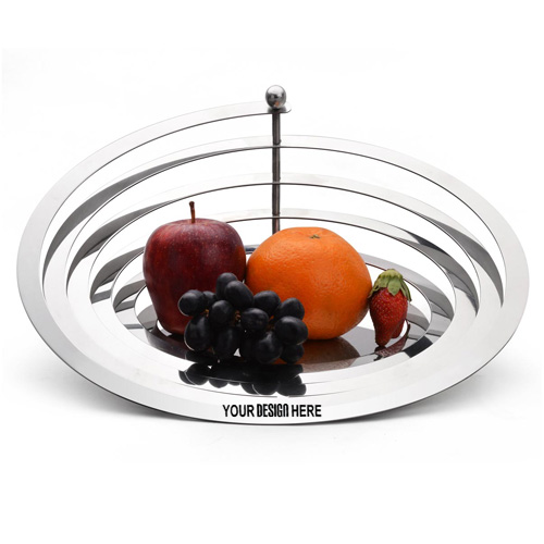SS Wire Frame Fruit Bowl