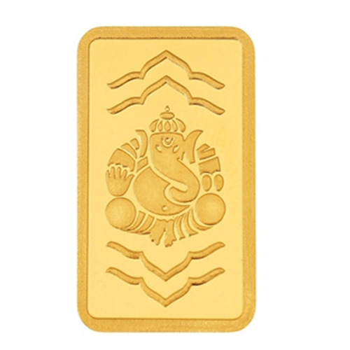 10 Gram Ganesha Gold Bar