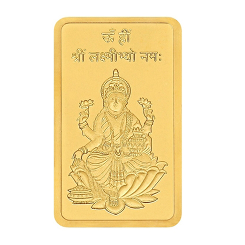 5 Gram Lakshmi Gold Bar
