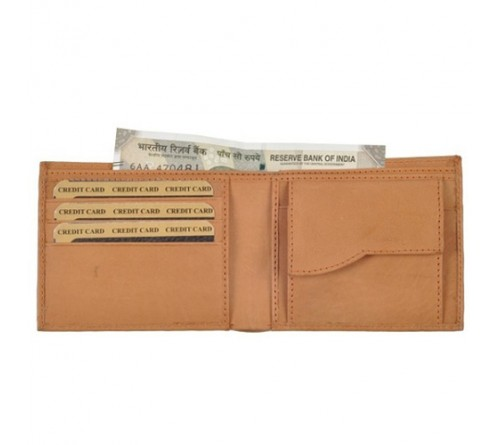 Gift Set of Couple Wallet Light Brown