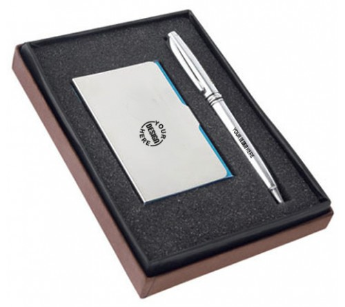 Gift Set Card Holder Pen