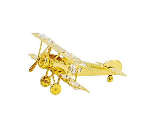 Stylish Gold Plated Aeroplane
