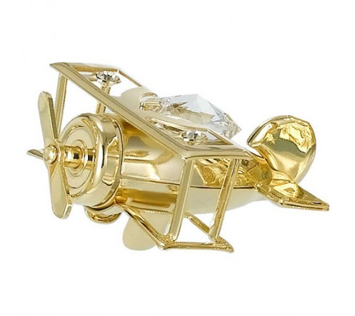 Gold Plated Small Aeroplane