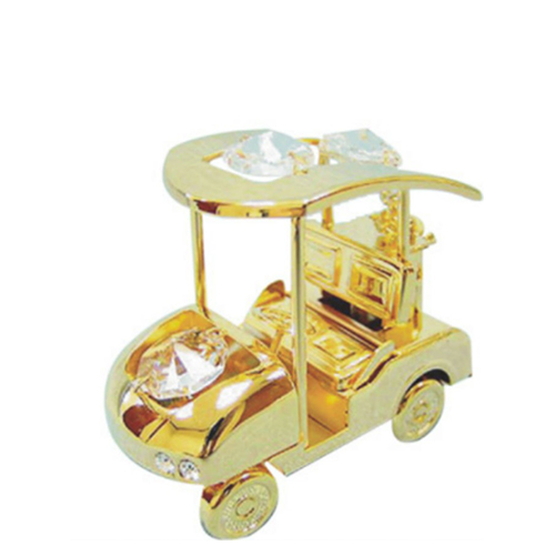 Golf Cart Gold Plated