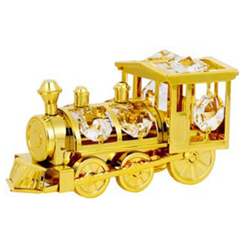 Railway Engine Gold Plated