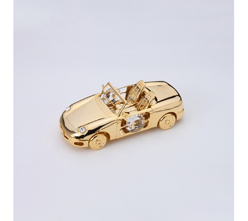 Sports Car Gold Plated