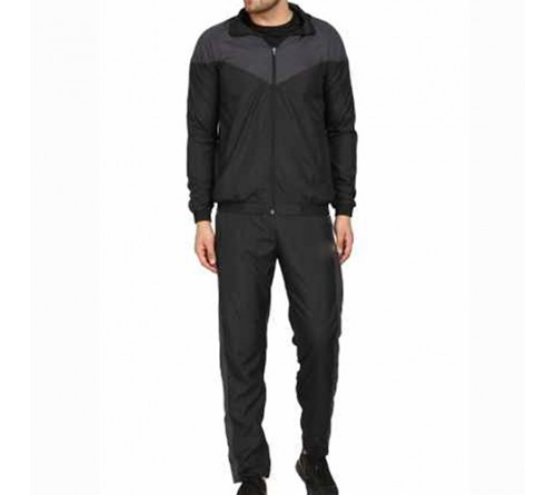 Running Tracksuit Black And Grey