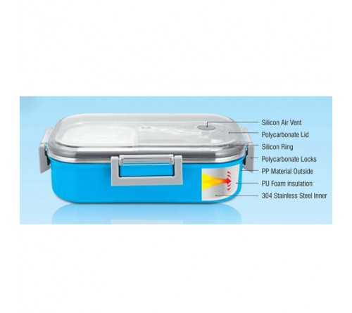 Sigma Poly Steel Lunch Box