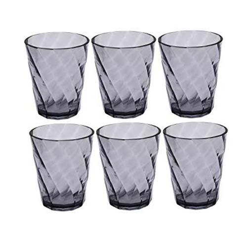 Brazzil Glass Set of 6Pc