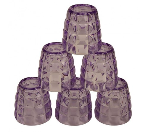 Swizz Plastic Microwave Glass Set