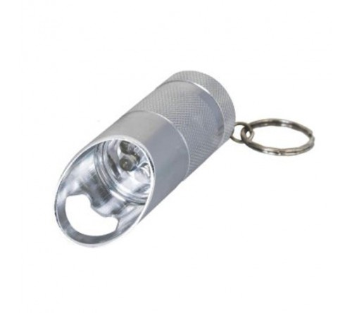 Metal Key Chain with 6 LED Torch Opener