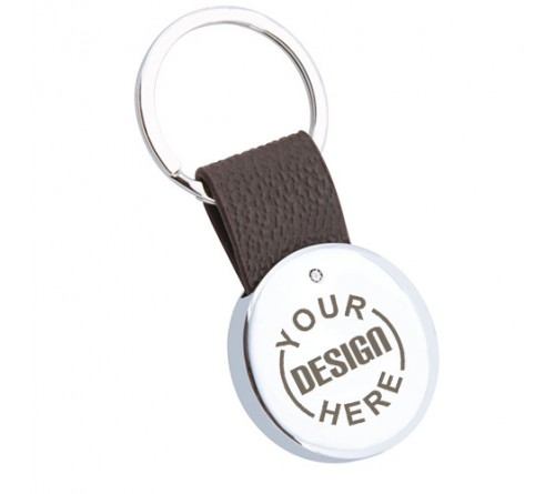 d5c54f6dd Personalized Printed Unique Metal Leather Keychain