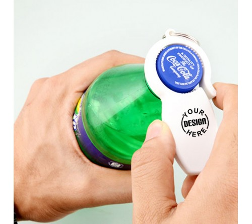 Universal Bottle can opener Keychain