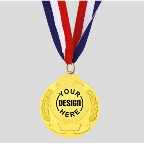 Personalized TVS Medal