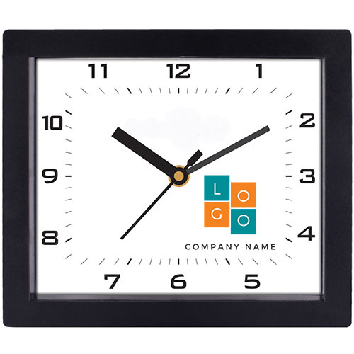 Rectangle Home Wall Clock