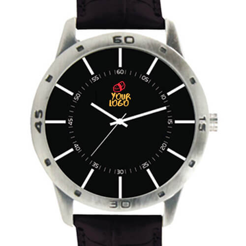 Corporate Black Wrist Watch