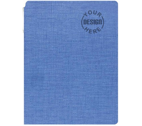 Customized Diary Sky Blue