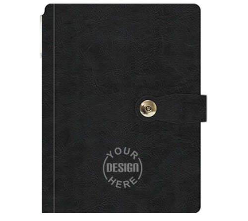 Personalized Diary With Magnetic Lock