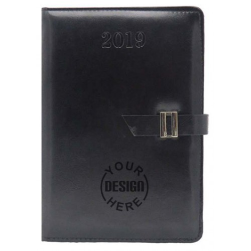 Personalized A5 Planner Diary With Lock