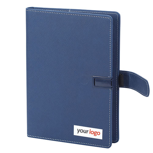Customized Blue USB Notebook