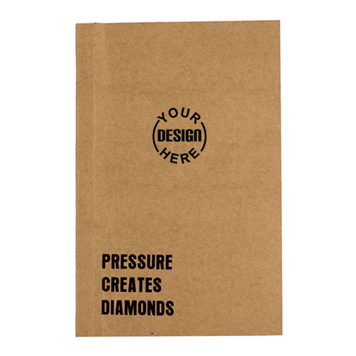 Pressure Creates Diamonds Notebook