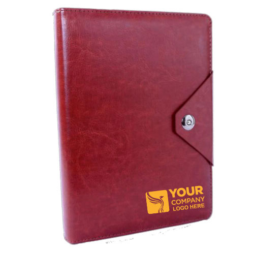 Custom Logo Notebook with Organizer