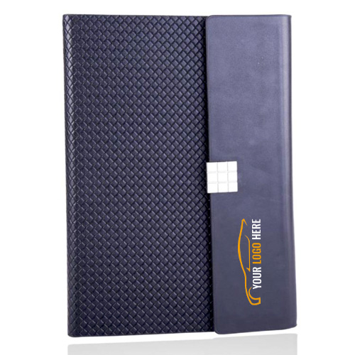Diamond Textured Flap Cover Notebook