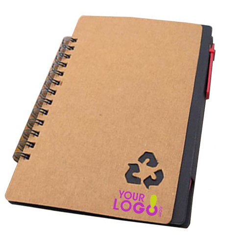 Eco Notebook with Pen N Sticky Pads