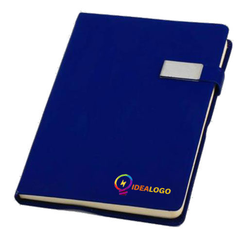Notebook with Steel Button