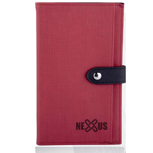 Zipper Portfolio with Notepad