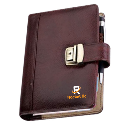 Brown NDM Leatherite Business Organiser