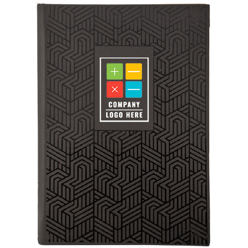 Abstract Design Cover Personalized Notebook