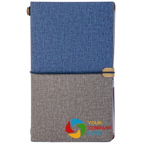 Dual Color Textured Cover Personalized Notebook