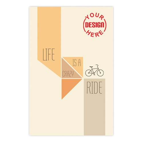 Life Is Crazy Ride Notebook