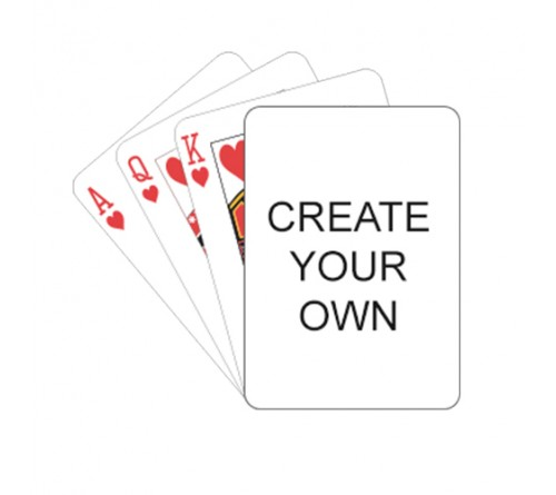 Customized Create Your Own Playing Card