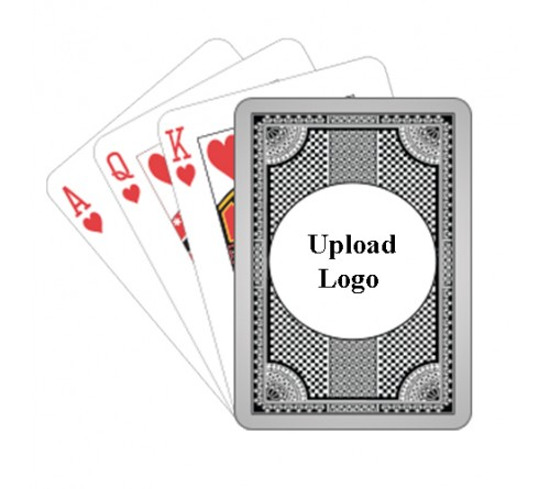 Logo Printed Playing Card