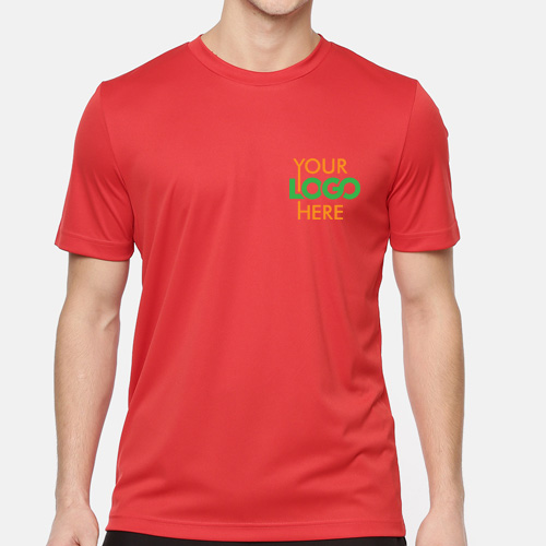 Puma Round Drycell Team Ess Tee Red