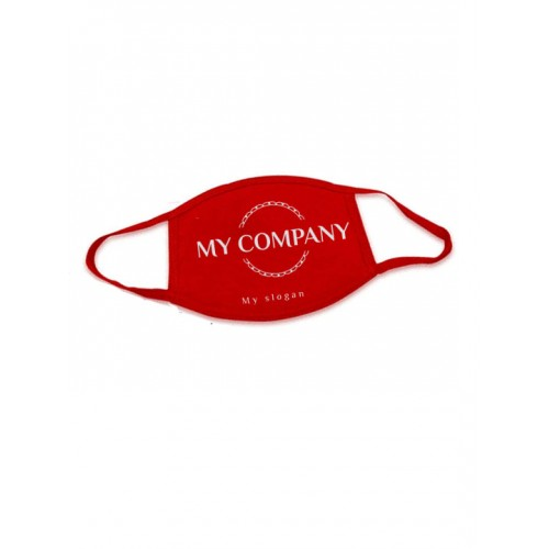Logo Printed Washable and Reusable face Mask