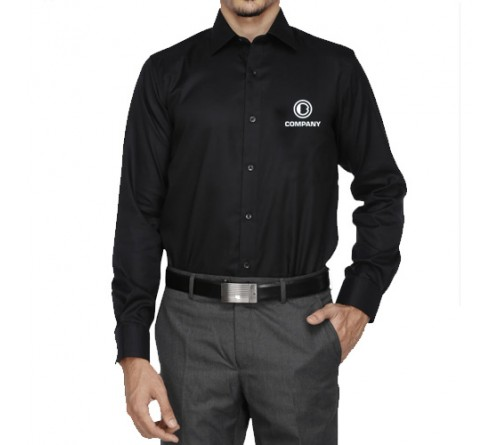 Customize Embroidered Shirt Black