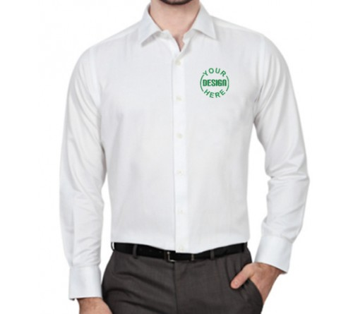 Embroidered Shirt White