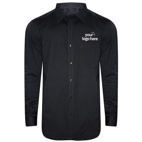 Customized Formal Uniform Shirt Curved Bottom