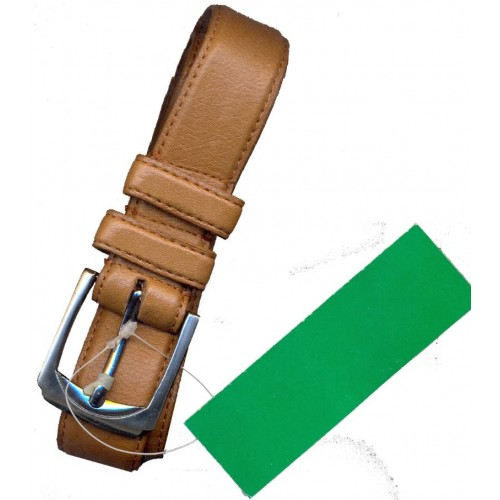 United Colors of Benetton Leather Belt Brown